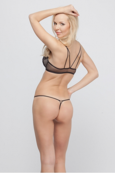 Трусы Lady in Black string