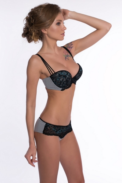 Трусы The Palace Black bikini