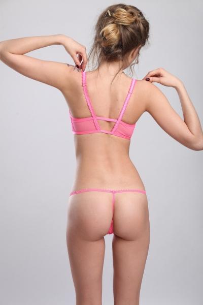 Трусы Louvre Pink string